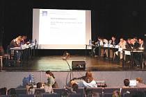 Snímek ze středečního jednání zábřežského zastupitelstva
