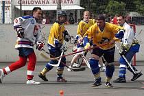 Hokejbalový tým Drafanů na turnaji v Benátkách