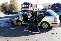 Nehoda na obchvatu Mikulovic, 25. října 2021