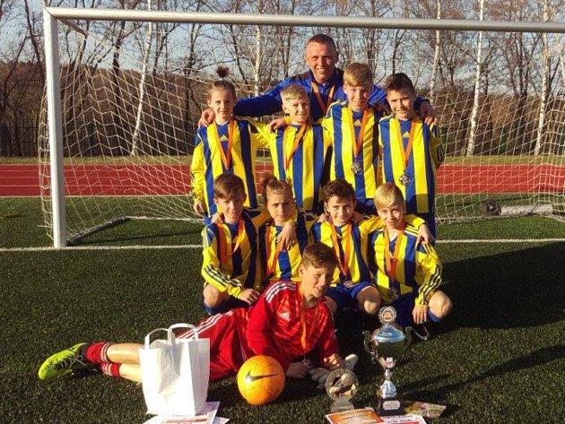 Šumperská fotbalová mládež vybojovala na pražském turnaji druhé místo.