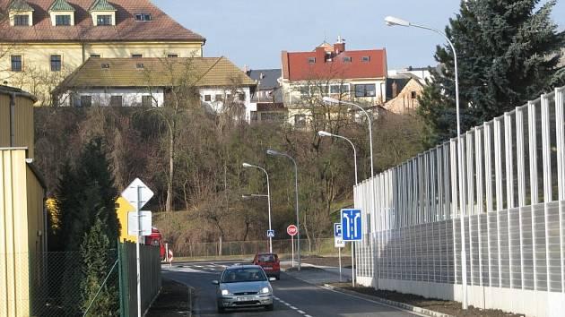 Nový průtah, který ulehčí dopravě v centru Zábřehu, otevřelo město v pondělí 7. ledna. Z dolního náměstí odvede asi pětinu dopravy.