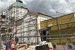 Rekonstrukce smuteční síně na zábřežském hřbitově