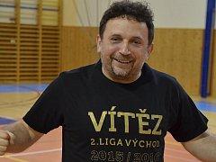 Jiří Gnida, trenér a manažer AC Gamaspol Jeseník.