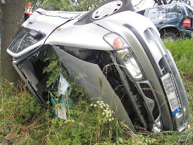 Nehoda na silnici z Mohelnice do Moravské Třebové