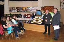 S projektem na podporu podnikání mladých lidí v kraji se v úterý 24. března seznámili na Střední škole automobilní v Zábřehu.