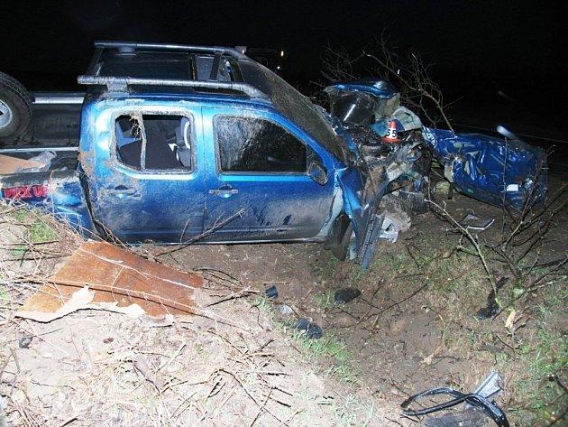 Při nehodě mezi Libivou a Vlachovem dopadlo auto podstatně hůř než řidič.