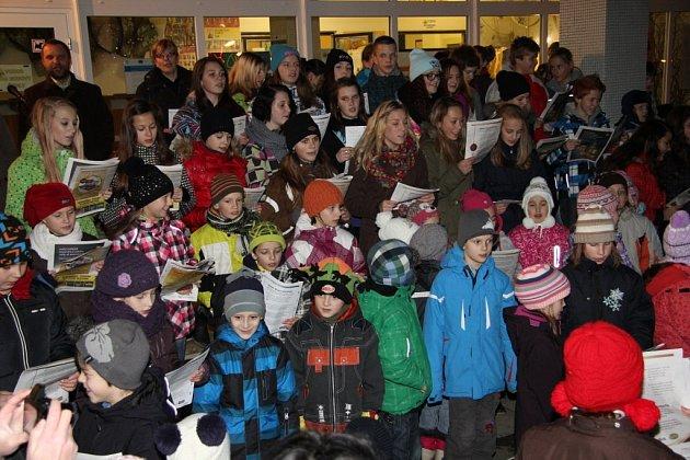 Česko zpívá koledy, 11.12. 2013, Šumperk
