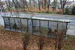 Zastávky u šumperské mototechny získaly polep, následovat budou ty u hřbitova.