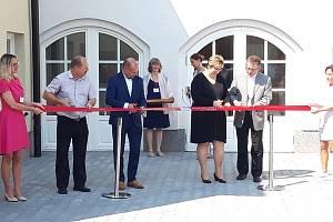 Slavnostní otevření domova sv. Františka v Javorníku.
