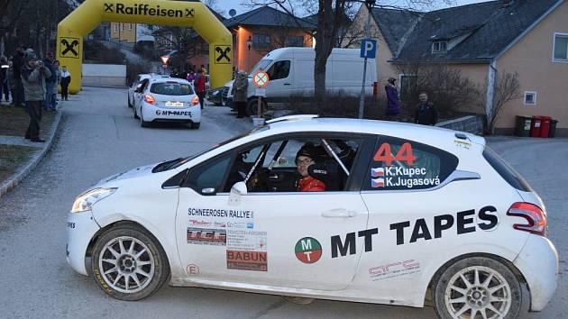 Karel Kupec na březnovém závodu v Rakousku