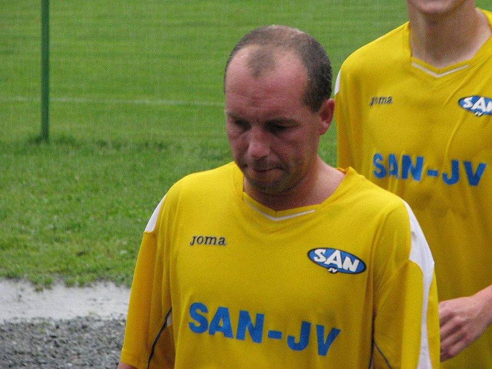 Šumperk versus Baník Ostrava B 1:2, na snímku je Ivo Lošťák