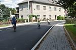 Zrekonstruovaná silnice v Sudkově.