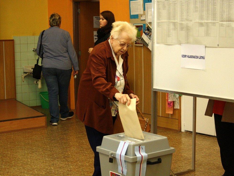 Komunální volby v Šumperku.