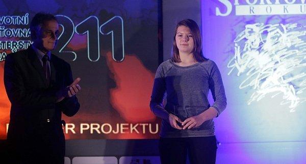 Nejúspěšnější sportovec okresu Jeseník za rok 2015 - Kategorie žaček - Eliška Bartůňková