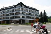 Opravená budova, kam se nastěhuje šumperský úřad práce.