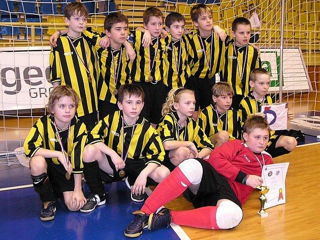 Šumperští žáci na turnaji v Prostějově.