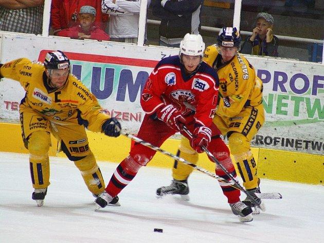 Hokejová příprava. Draci versus Havlíčkův Brod