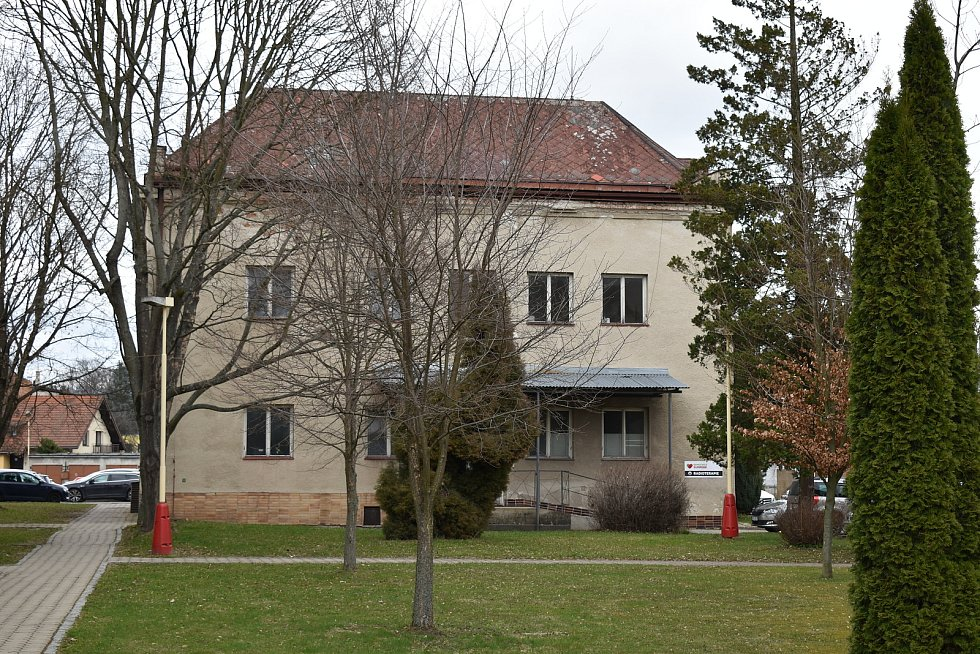Nemocnice Šumperk. Pavilon M