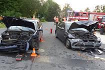Nehoda u Bernartic.
