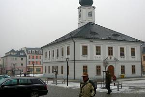 Jesenická radnice. Ilustrační foto