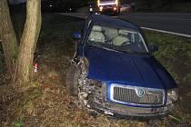 Nehoda superbu u Bušína