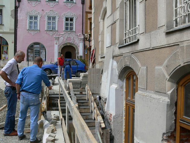 Rekonstrukce šumperské radnice vrcholí