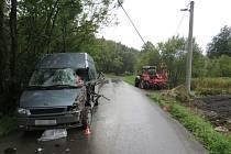 Nehoda v Chrasticích