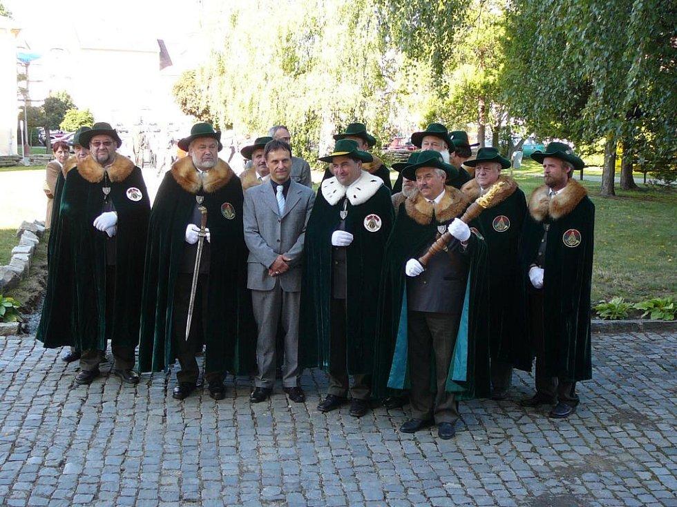 Svatohubertské slavnosti v Zábřehu