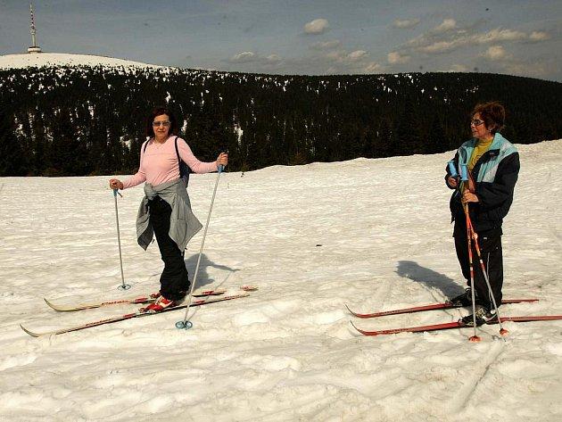 V okolí Pradědu se začíná lyžovat (ilustrační foto)