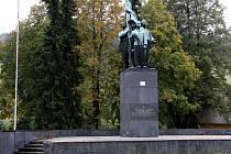 Památník obětem Frývaldovské stávky v Dolní Lipové