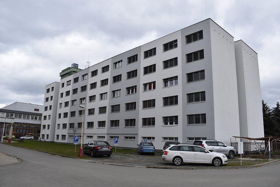 Nemocnice Šumperk. Pavilon A