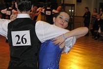 O Pohár města Šumperka soutěžili tanečníci v sobotu 3. března