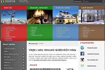 Turistická sekce internetových stránek města Jeseníku.
