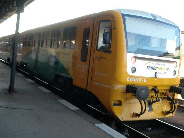 Na trati údolím Desné bude brzy jezdit moderní souprava Regionova.