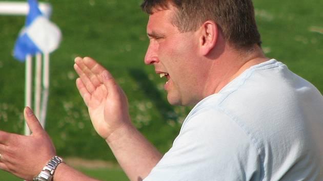 Losinský trenér Petr Strnad