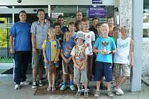 Fotbalisté Úsova na Dětské klinice v Olomouci