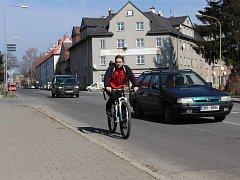 Křižovatka v Zábřežské ulici