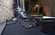 Expozice věnovaná čarodějnickým procesů ve Vlastivědném muzeu v Jeseníku