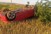 Nehoda u Javorníku 23.7.2017