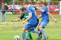 Šternberk versus Štíty (zelené dresy)