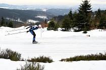 Závod na Paprsku proběhne v prostředí plném sněhu.