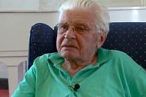 Emeritní primář jesenických lázní Alois Kubík.