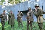 Návštěvníci srubu U Potoka viděli o víkendu prvorepublikové vojáky v akci.