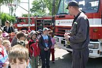Den otevřených dveří se konal 13. května na hasičské stanici v Šumperku