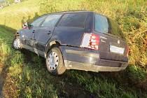Nehoda na Bludovském kopci.