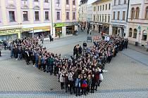 Výstražná studentská stávka v Šumperku ve čtvrtek 15. března.