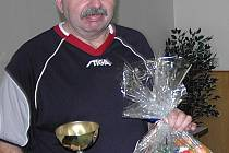 Drahoslav Švesták z Kolšova coby vítěz hlavní kategorie.