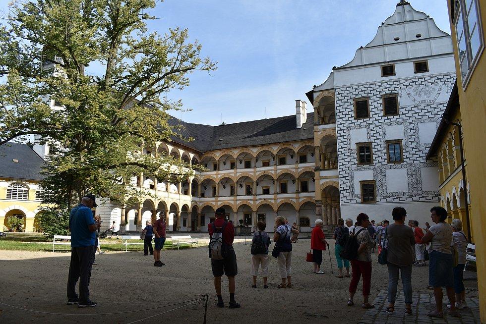 Velké Losiny - zámek.