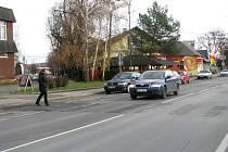 Silnice v Mohelnici.