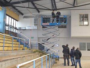 Zimní stadion v Šumperku v pondělí 6. listopadu